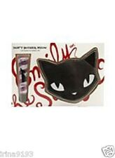 Emily the Strange Don't Bother Meow Purse and Lip Gloss Girl`s Gift Set New
