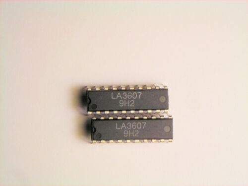 "LA3607  /""Original/"" SANYO   20P DIP IC  2 pcs"