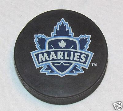 TORONTO MARLIES AHL Hockey SOUVENIR PUCK NEW Maple Leafs Affiliate Farm Team