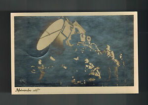 1941 Ascherslebe Germany RPPC Luftwaffe Searchlight AA Postcard Feldpost Cover