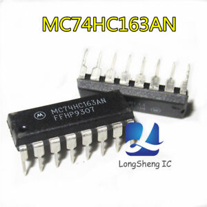 10PCS-MC74HC163AN-MC74HC163-new