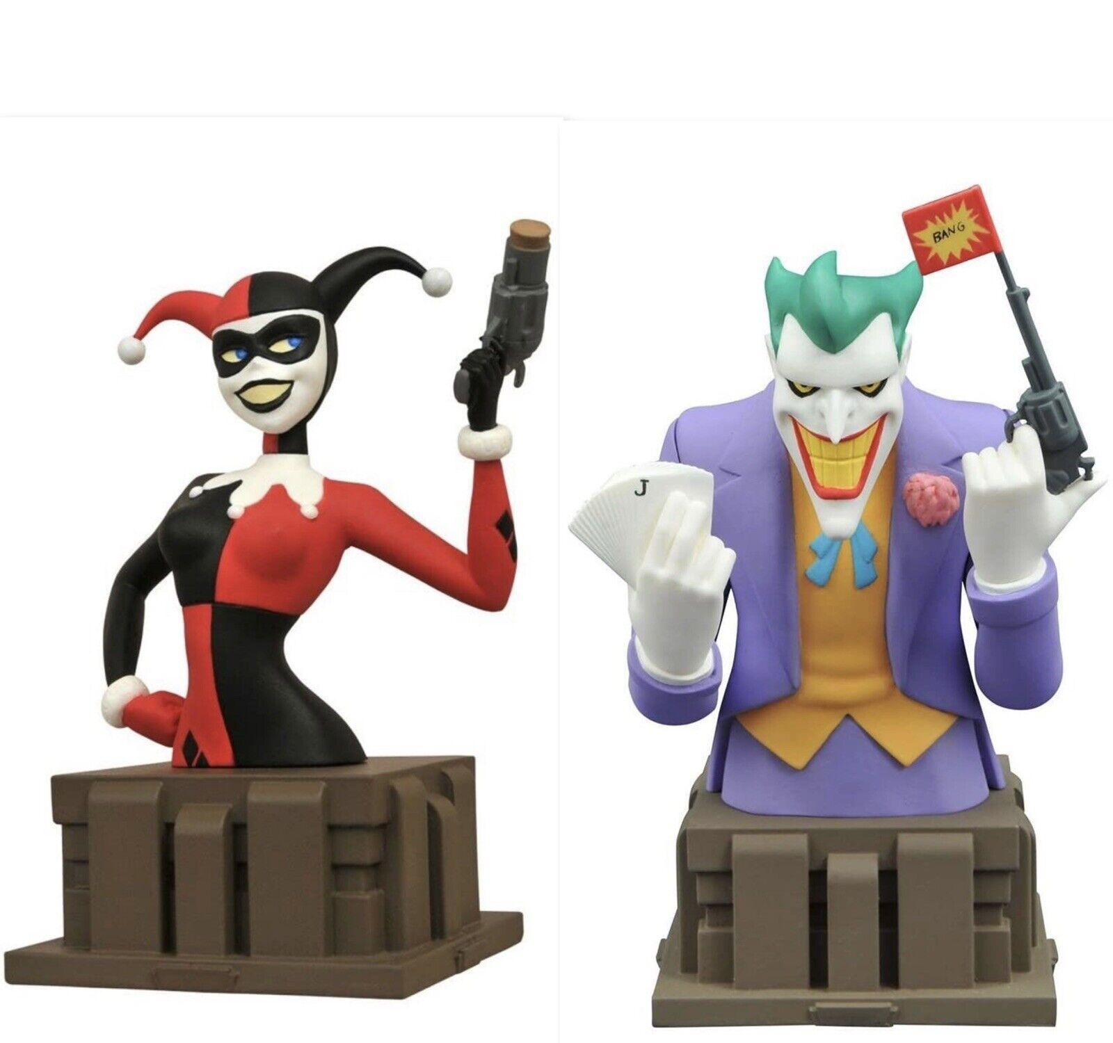 Diamond Dc Comics Batman Animated Series Harley Quinn 1866 The Joker Bust 1764 For Sale Online