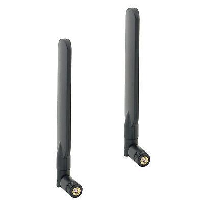 2pcs//lot New 6dBi WiFi RP-SMA Flat Antennas for ZyXEL NBG4615 NBG461 WAP3205