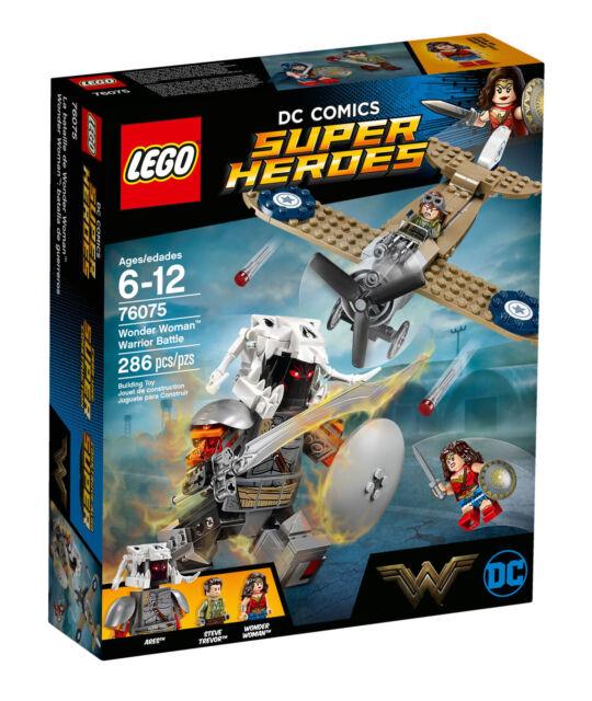 MARVEL lego WONDER WOMAN super heroes of justice GENUINE 76075 warrior battle