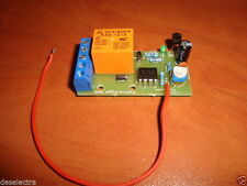 DELAY OFF 1 TO 270 SEC POSITIVE PULSE ACTIVATING TIMER SWITCH RELAY KIT 10A 12V