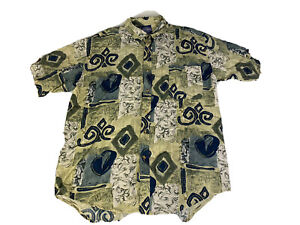 Blue Ridge Men Button Up Shirt Comfort Fit Size Large Collared Shirt Sleeves