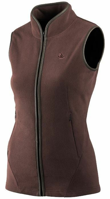 Seeland Bolton Lady Waistcoat-Bitter Chocolate (Hunting Walking Outdoors)