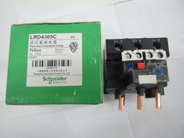 1PCS   LRD4365 80-104A Schneider Thermal Overload Relay NEW