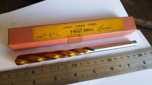 8.8mm hss twist drill