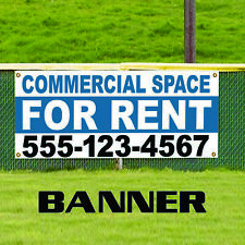 Commercial Space For Rent Plastic Novelty Indoor Outdoor Vinyl Banner Sign