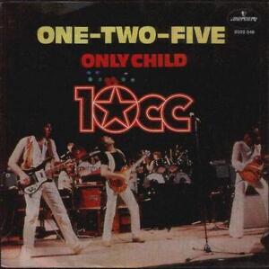 10-CC-ONE-TWO-five-7-034-PS-dutch-issue-in-unique-Live-Manche-B-W-enfant-unique
