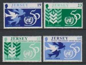 Jersey-1995-les-Nations-Unies-Un-Ensemble-MNH-Sg-723-6