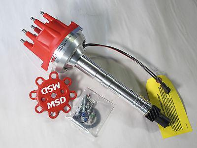 msd 8570 pro billet distributor magnetic trigger small base cap ...  ebay