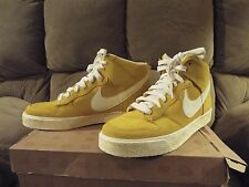 NEW Mens NIKE DUNK High AC 398263 700 MAIZE Yellow  Shoes Deadstock Rare size 10