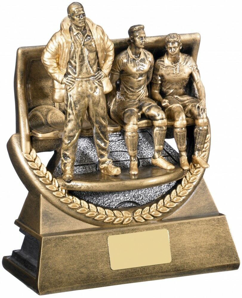 RF385 series resin  The Managers Award  Football Rugby trophy from .00