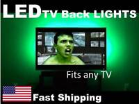Led Backlighting Kit For Any Tv Universal Fit Sony 32 40 42 50 60 70 Inch