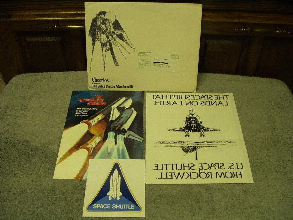 Premium Promo spazio SHTTLE ADVENTURE KIT Cheerios 1981 Mike
