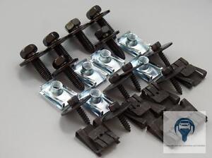 PROTEZIONE-SOTTO-MOTORE-INGRANAGGIO-Kit-di-installazione-clip-MERCEDES-W203-W204