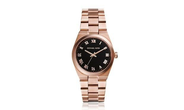New Michael Kors Women's MK5937 Rose Gold Watch