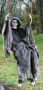 LIFE-SIZE-5-FT-HANGING-Swinging-Skeleton-Spirit-OUTDOOR-HALLOWEEN-PROP-HAUNT