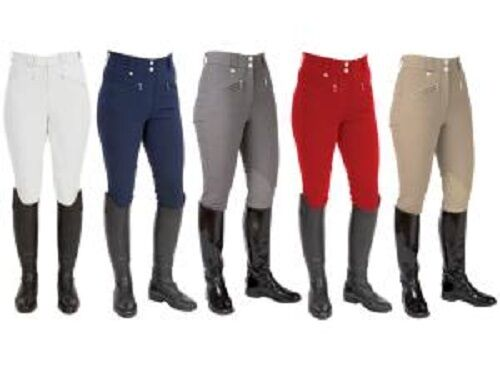 HYIMPACT CLEO LADIES BREECHES FOR HORSE RIDING VARIOUS COLOURS & SIZES SMART