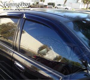 Outside Mount Rain Guards Visor Sun roof Combo 5pc Mazda Mazda6 6 2002-2007 4DRs