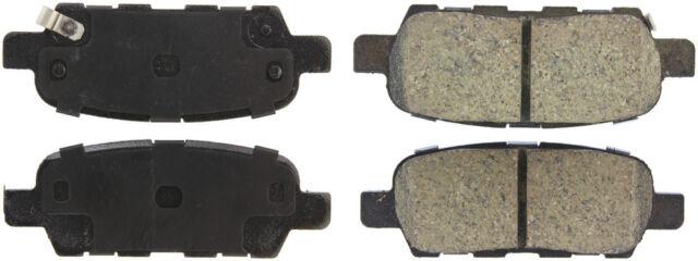 REAR SET Posi Quiet Ceramic Brake Disc Pads LOW DUST 105.09050 + Hardware Kit