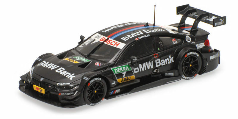 Bmw M4 F82 Bmw Bank Team Mtek Bruno Spengler Dtm 2016 1 43 Model MINICHAMPS
