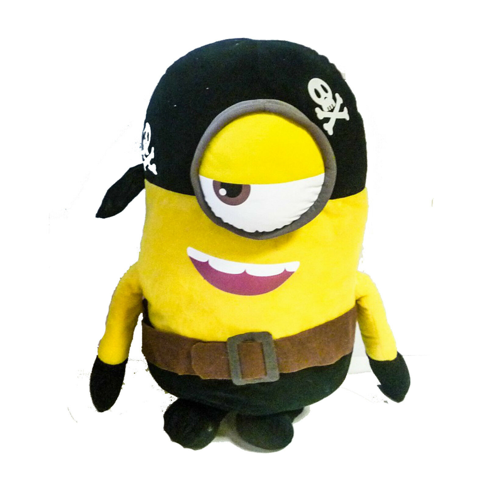 Soft toy MINIONS 38cm Pirate with eyes in fabric 3D