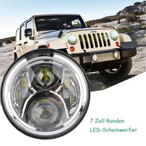 7-034-DRL-DRL-Hi-lo-LED-Projektion-Scheinwerfer-fuer-Harley-Jeep