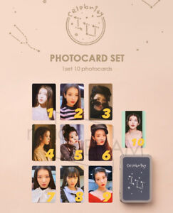 Official IU Celebrity Photocards