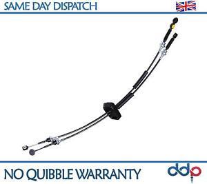 Pour-Opel-Vivaro-01-Onwards-Gear-Levier-Controle-Liaison-Cable-Set-4432979