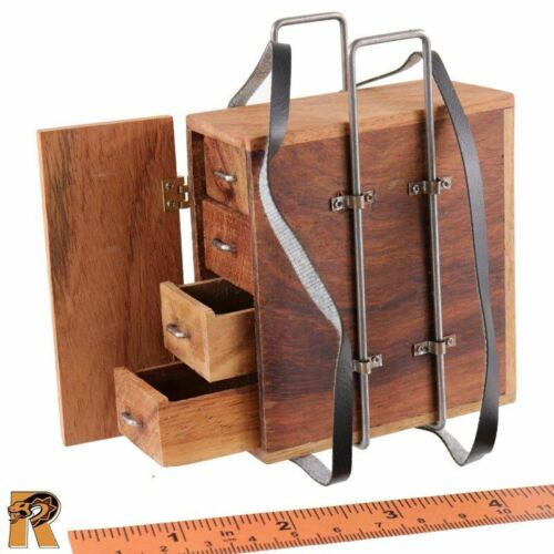 Ammo Box Carrier - 1//6 Scale WGR Action Figures Wood Ashigaru Musketeer