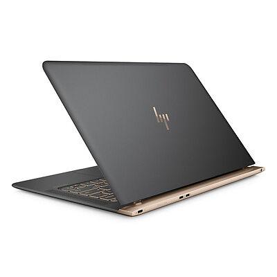 "HP Spectre 13-v001na 13.3"" Laptop 10.4mm Thin 512GB SSD Dark Grey & Copper"