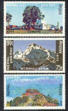 Nepal 1973 Tourism/Mountain/Buddha/Tree/Castle/Buildings/nature 3v set (n38815)