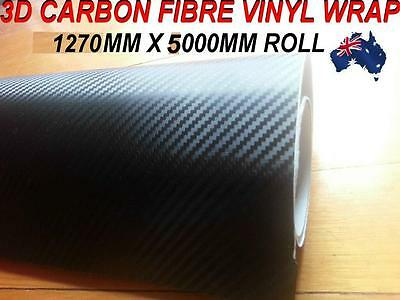 OZ excellent 3D Carbon Fibre Car Vinyl Wrap Sticker1.27 X 5 metre, squegee free