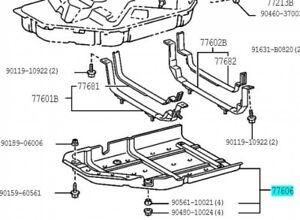 FUEL TANK 7760235030 Genuine Toyota BAND SUB-ASSY NO.1 77602-35030