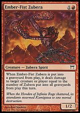 Ember-Fist Zubera FOIL GOOD HEAVY PLAYED Champions MTG Magic Cards Red Common