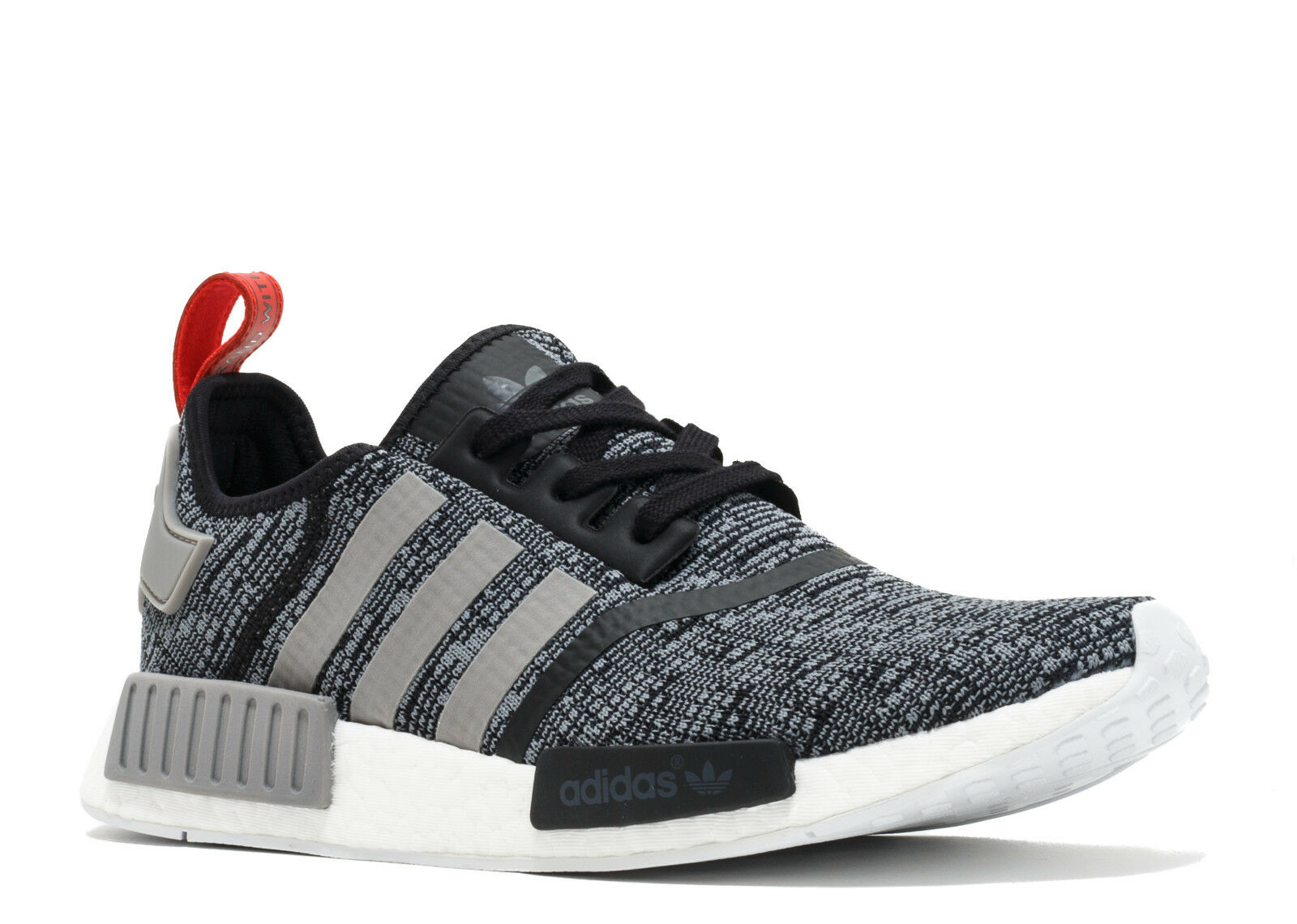 Adidas NMD R1 Core Black Grey Red Glitch Camo Pack Nomad Runner BB2884 Size 9