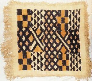 African-Kuba-cloth-Velvet-bakuba-raffia-Africa-kv355