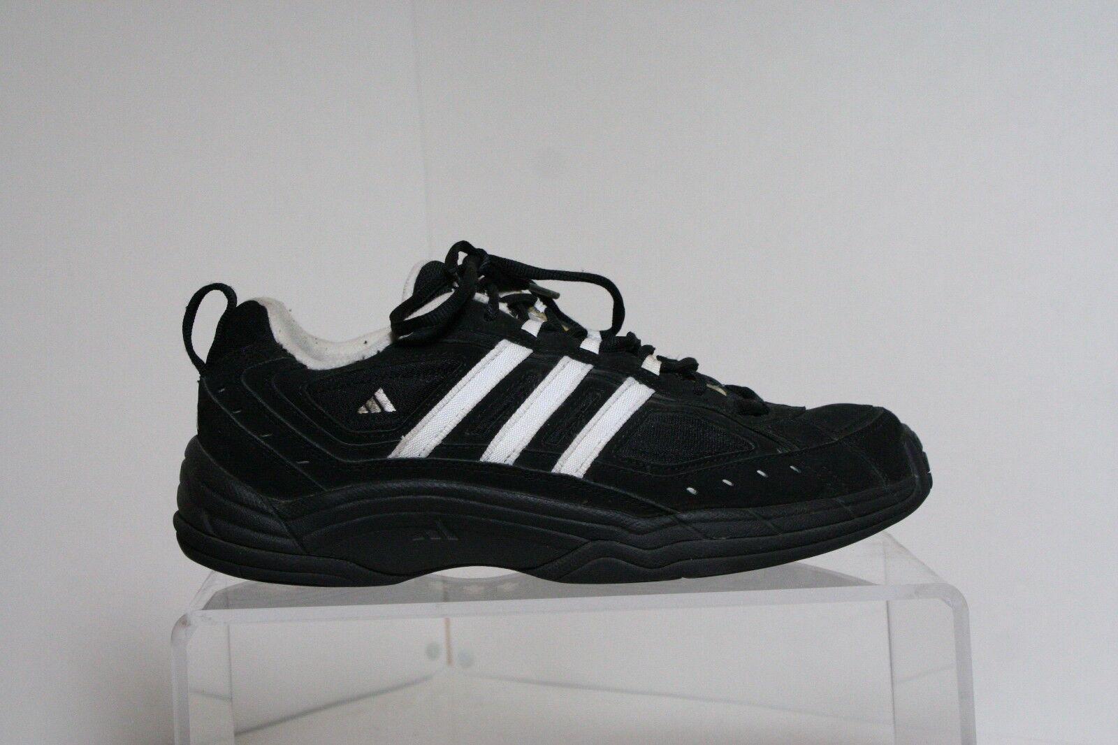 Adidas VTG Tennis Athletic Sneaker 2000 OG Men 11 Multi Black White Athletic Tennis Training Hip 20d5cb