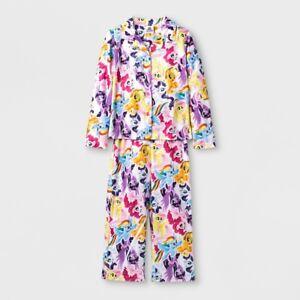 67c8d449b Girls  My Little Pony 2 Piece Top   Bottom Pajamas PJ Set - Size 4 ...