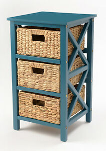 Image Is Loading 3 Tier X Side End Table Cabinet Storage