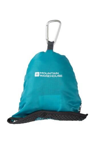 Mountain Warehouse Clip Voyage Serviette Séchage Rapide /& Absorbant Bleu Sarcelle-Taille Unique