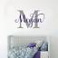 Personalizado-Chicos-Chicas-Guarderia-Dormitorio-Pared-Adhesivo-Calcomania-vinilo-pared-arte-inicial miniatura 4