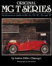MGT TA TB TC TD TF Restorer's Guide WORKSHOP REPAIR SERVICE MANUAL BOOK