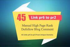 Penguin And Panda Safe Manual 45 Unique Domain Backlinks Actual Pr6 To Pr2
