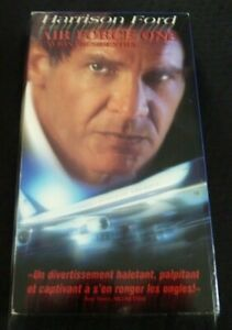 VHS-Movie-Air-Force-One-L-039-avion-Presidentiel-Version-Francaise-Harrison-Ford