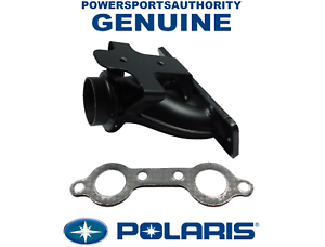 Polaris Genuine OEM Powder Black Exhaust Manifold for 2009-2010 RZR 800 EFI 1262045-489