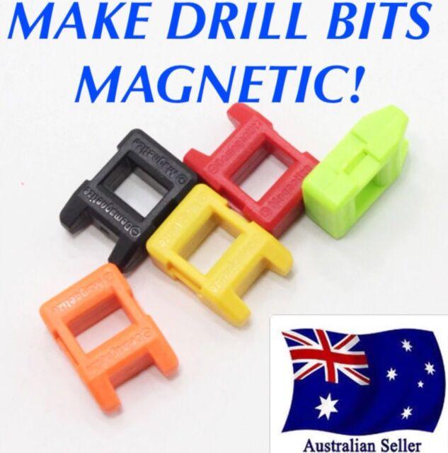 Screwdriver Drill Bit Tips Magnetizer Demagnetizer Magnetic Pick Up Tool Screw